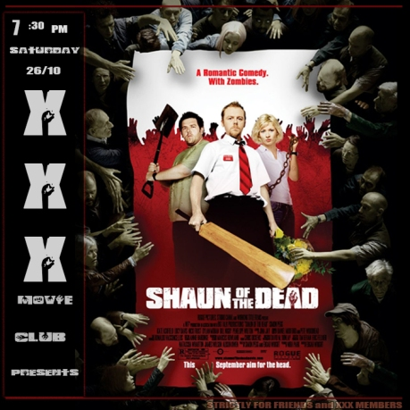 XXX MOVIE CLUB: SHAUN OF THE DEAD (2004)