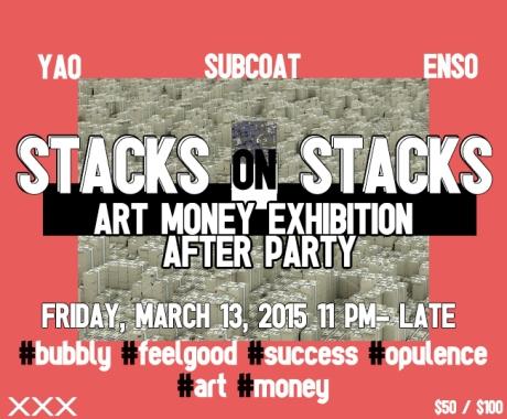 flyer for stacks on stacks