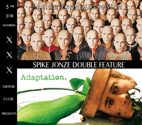 xxx x Spike Jonze Double Feature
