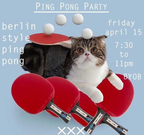 ping pong cat xxx