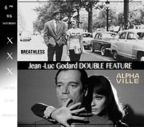 xxx x Jean Luc Godard Double Feature