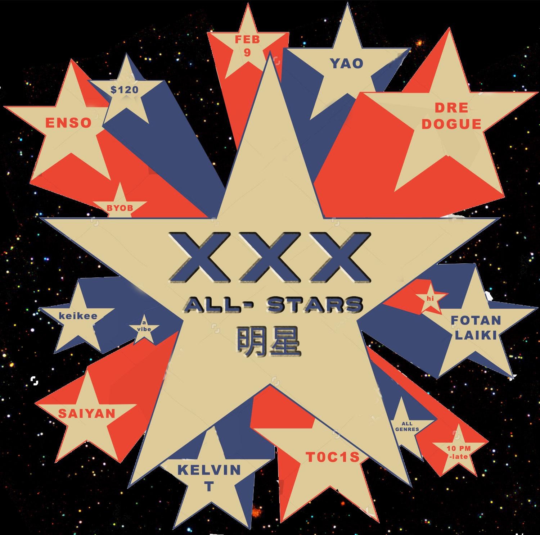 xxx all stars stock-vector-pop-art-flying-stars-on-white-background 2
